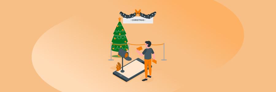 arbol de navidad interactivo