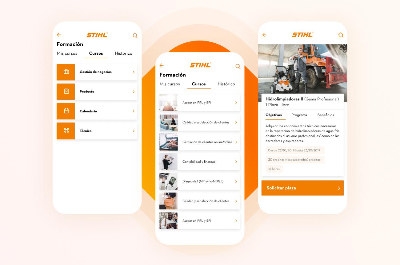 App Stihl formación