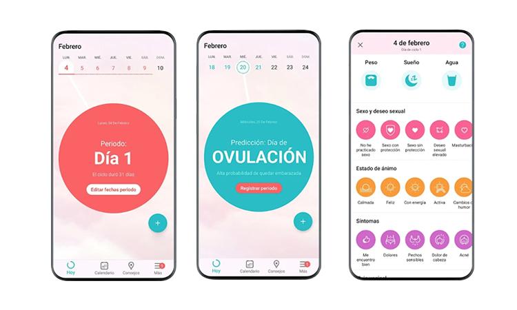 Apps para mujeres Flo