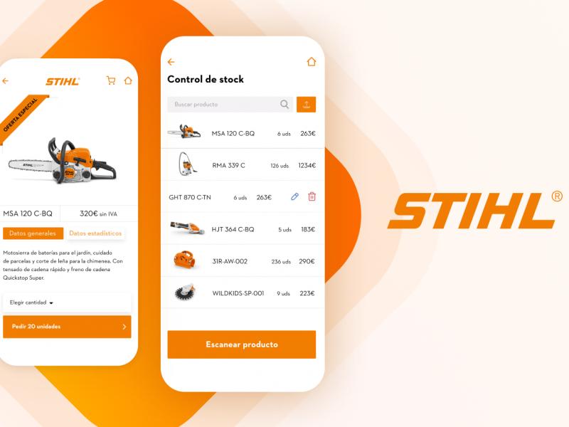 aplicación móvil Stihl