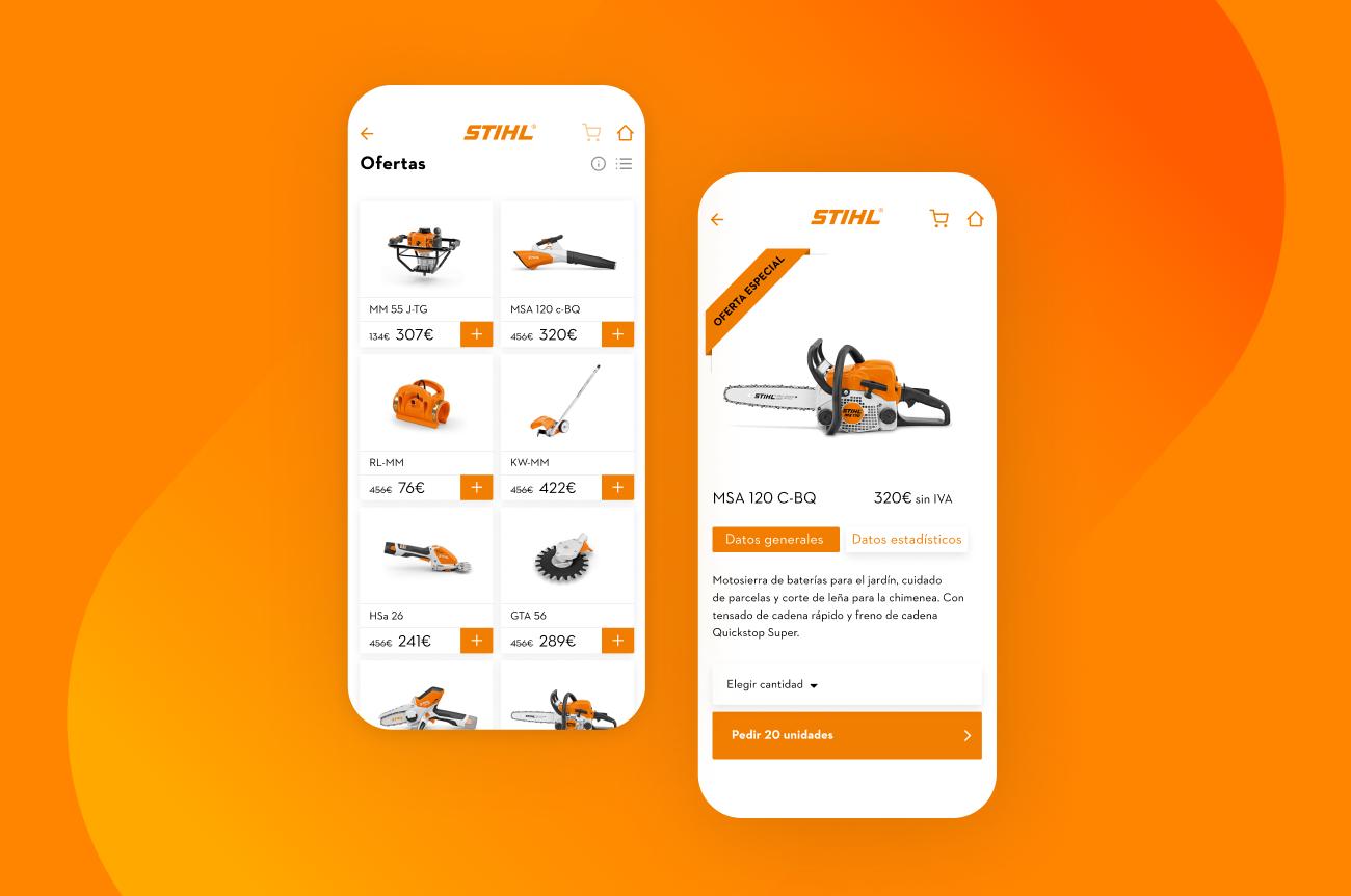 app-Stihl-producto
