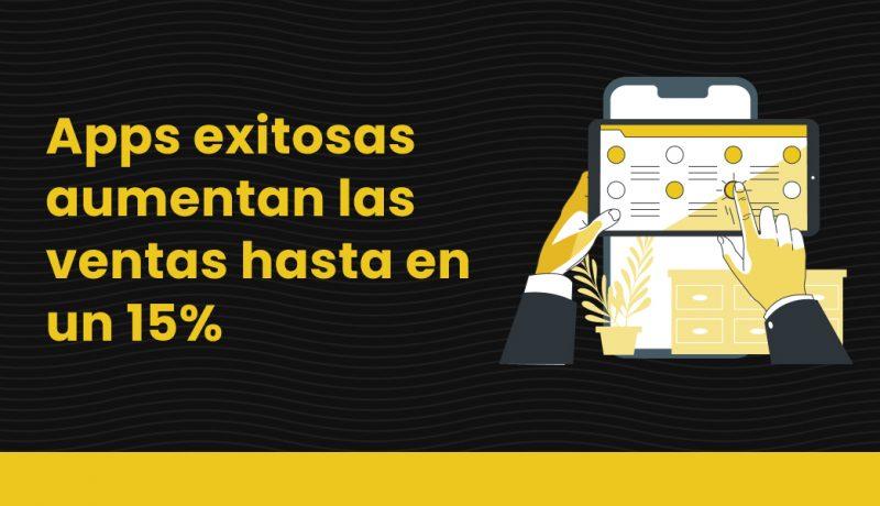 blog Apps exitosas aumentan las ventas hasta en un 15%