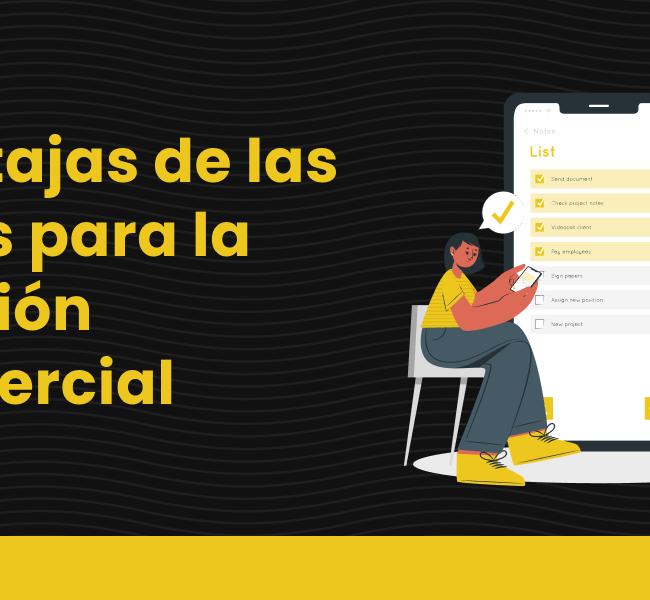 blog Ventajas de las apps para la gestión comercial