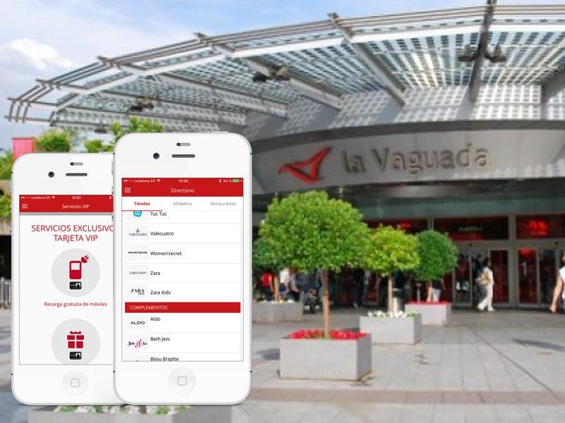 Aplicación Centro Comercial La Vaguada